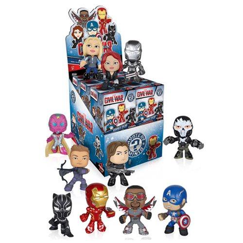 Captain America 3 Mystery Minis Vinyl Figure Display Box