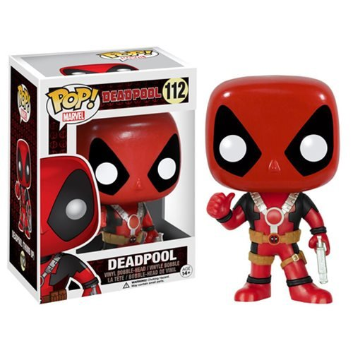 Deadpool Thumbs Up Pop Vinyl Figure Funko Deadpool