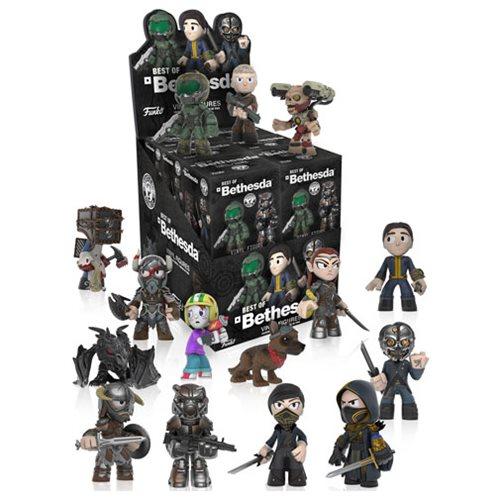 Bethesda All Stars Mystery Minis Mini-Figure Display Case