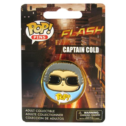 Flash TV Series Captain Cold Pop! Pin