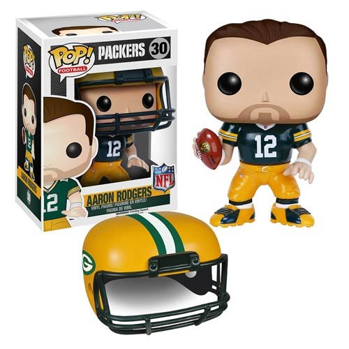 NFL Aaron Rodgers Wave 2 Pop! Vinyl Figure  Funko  Sports: Football  Pop! Vinyl Figures at