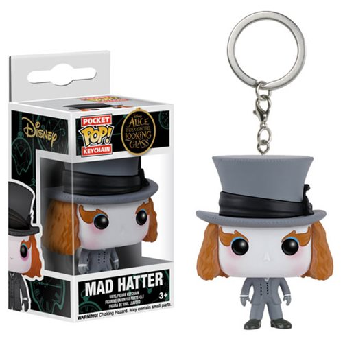 Alice Through the Looking Glass Mad Hatter Pop! Key Chain