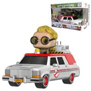 Ghostbusters 2016 Ecto-1 With Jillian Holtzmann Pop! Figure