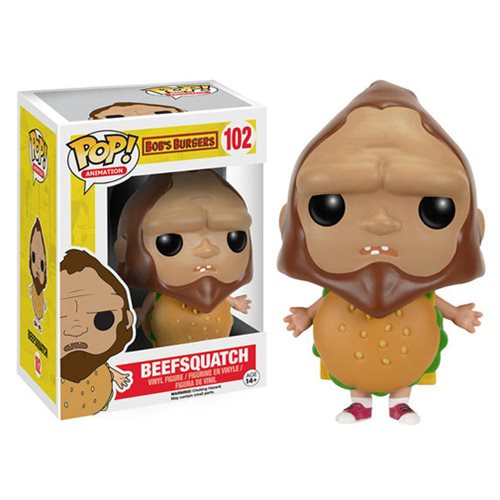 Bobs Burgers Beefsquatch Pop! Vinyl Figure