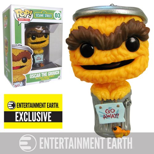Exclusive Sesame Street Pop! Vinyl Might Be Orange but He's Still Grouchy