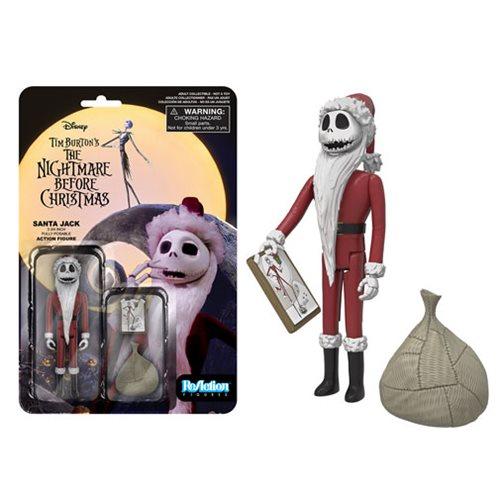 Nightmare Before Christmas Santa Jack ReAction Figure