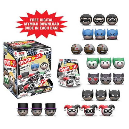 DC Comics Mymoji Mini-Figure Display Case