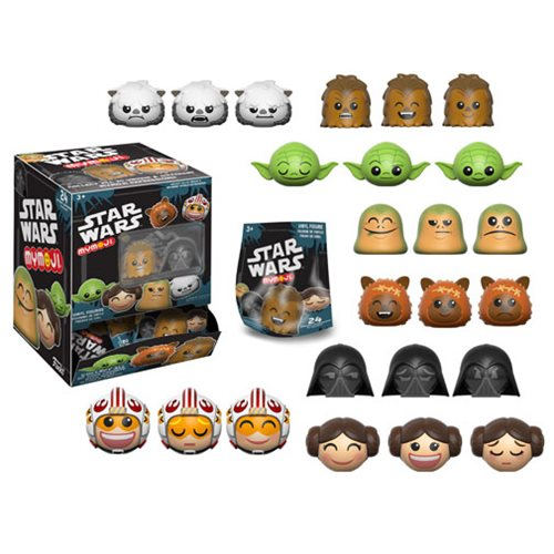 Star Wars Series 1 Mymoji Mini-Figure 4-Pack