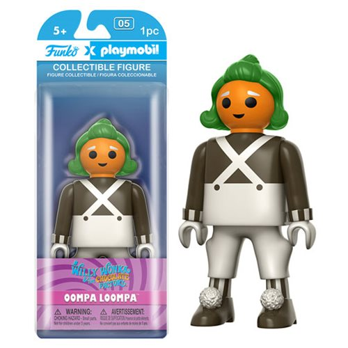 Willy Wonka Oompa Loompa Playmobil Action Figure