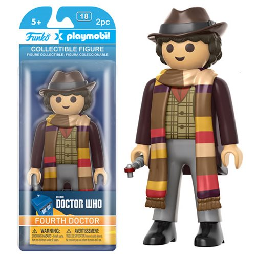 Doctor Who 4th Doctor 6-Inch Playmobil Action Figure
