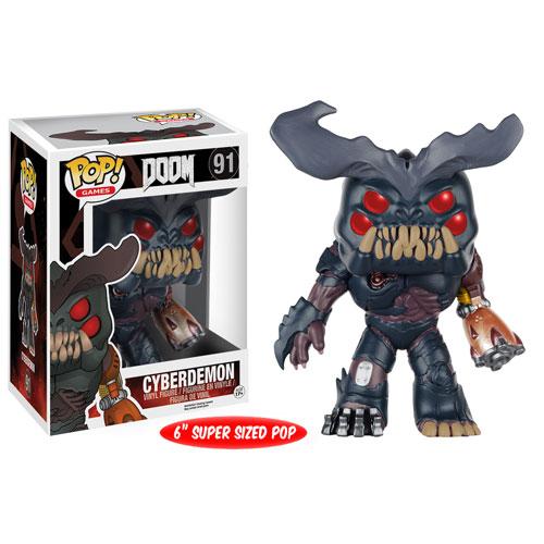 Doom Cyberdemon 6-Inch Pop! Vinyl Figure - Funko - Doom ...