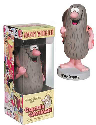 Captain Caveman Wacky Wobbler
