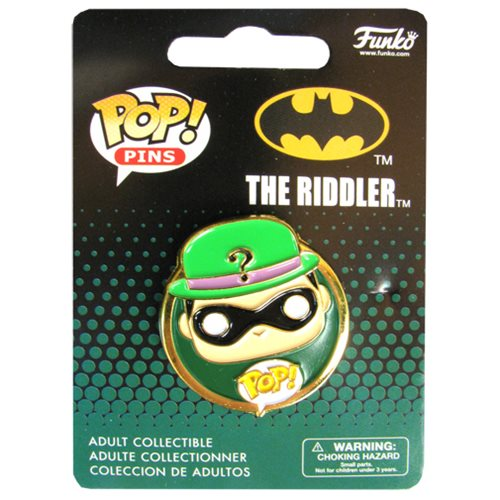 Batman Riddler Pop! Pin