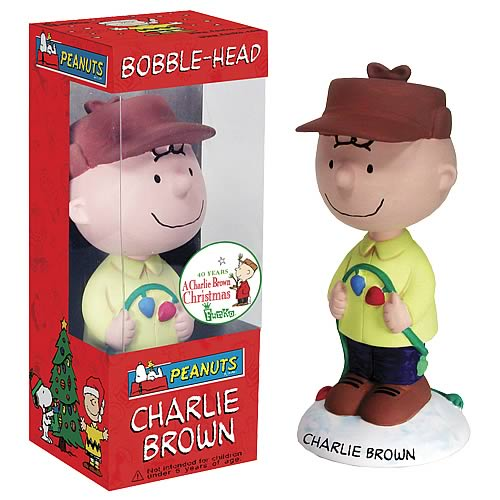 Peanuts: Charlie Brown Christmas Bobblehead