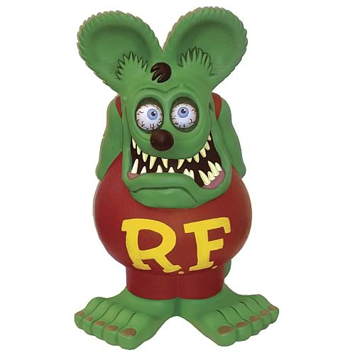 Rat Fink 24-inch Figural Bank
