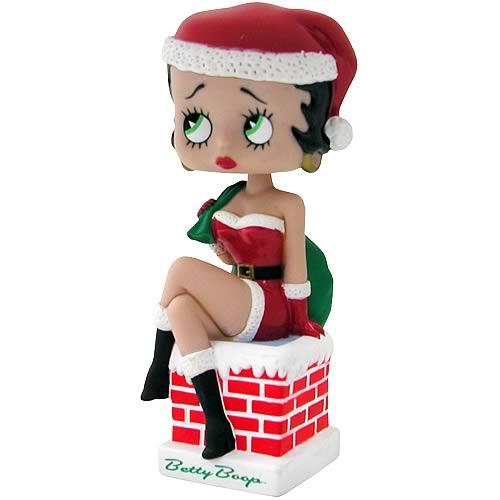 Betty Boop Christmas Bobblehead