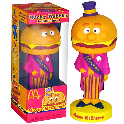 McDonald's Mayor McCheese Bobble Head