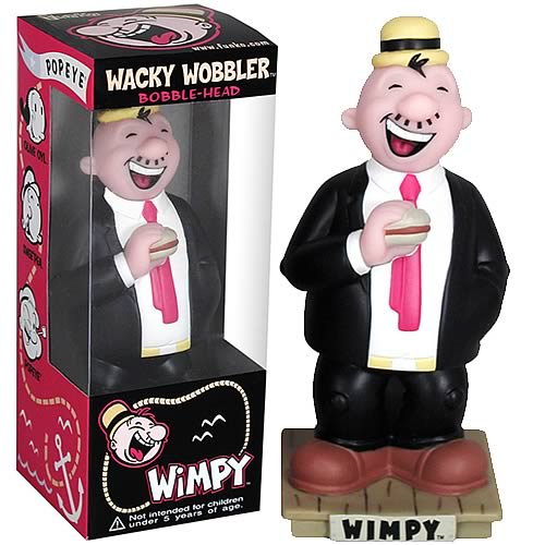 Popeye Wimpy Bobble Head