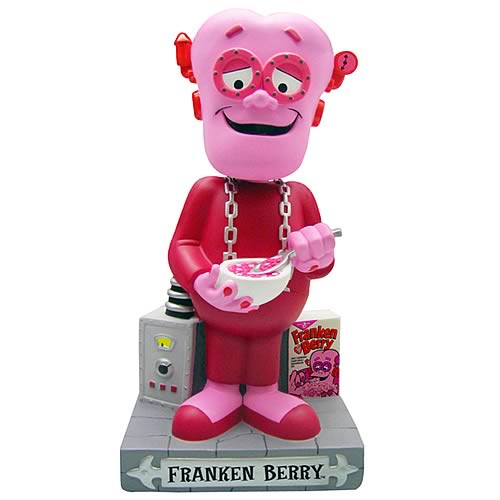 FrankenBerry 12-Inch Bobble Bank