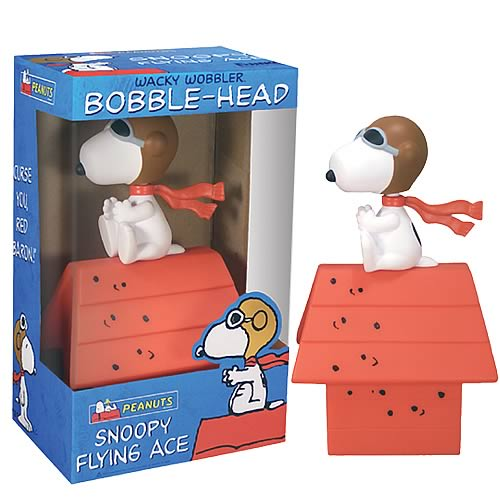 Peanuts Snoopy Flying Ace Bobble Head