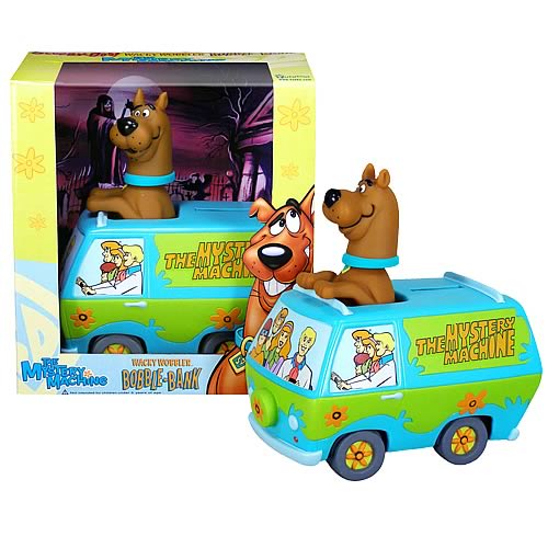Scooby Doo Mystery Machine Bobble Bank