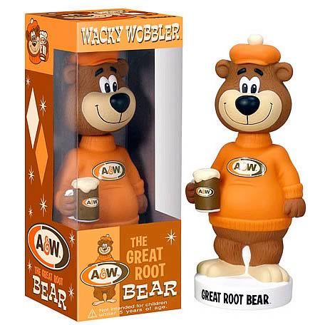 A&W Root Beer The Great Root Bear Bobble Head