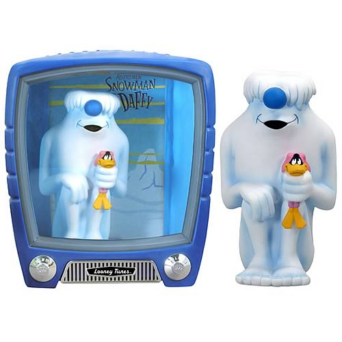 FunkoVision Abominable Snowman & Daffy Duck Vinyl Figures