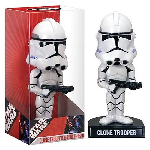 Clone Trooper Bobble Head: Star Wars Revenge of the Sith