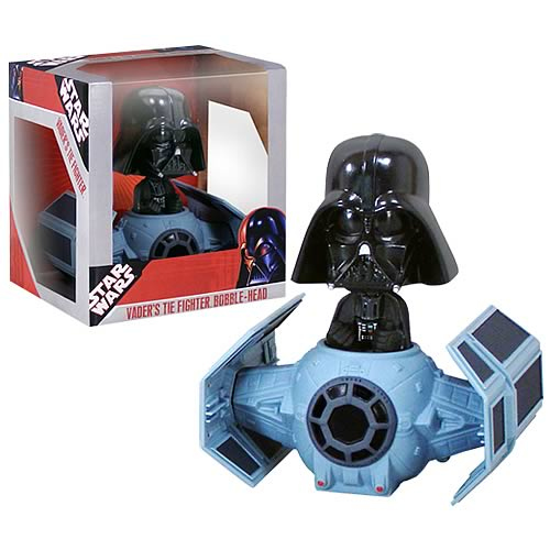 Star Wars Darth Vader TIE Fighter Bobble Head