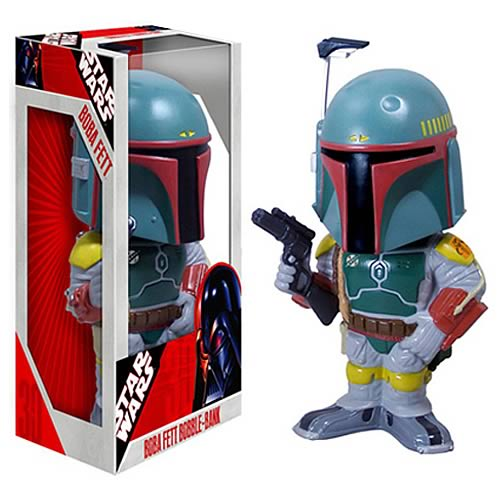 Star Wars Boba Fett 12-Inch Bobble Bank