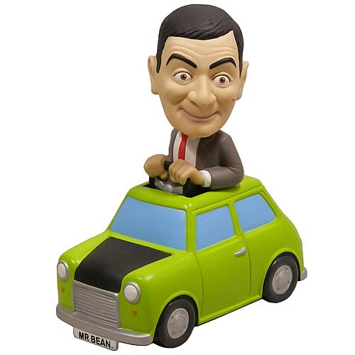 Mr. Bean Car Bobble Head