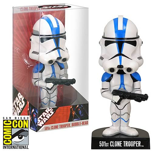 Comic-Con Pickup EE Exclusive Star Wars 501st Clone Bobble
