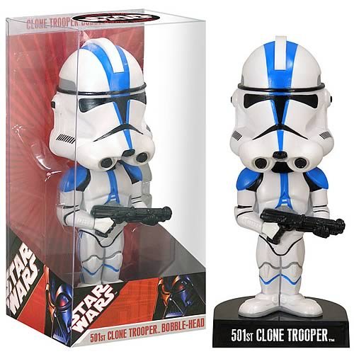 EE Exclusive Star Wars 501st Clone Trooper Bobble Head