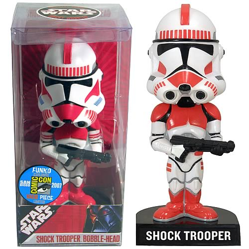Comic-Con Exclusive Star Wars Shock Trooper Bobble Head