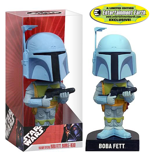 Boba Fett Bobble Head EE Star Wars Exclusive Holiday Special
