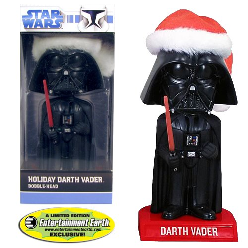 Darth Vader Bobble Head: EE Star Wars Exclusive Santa Claus