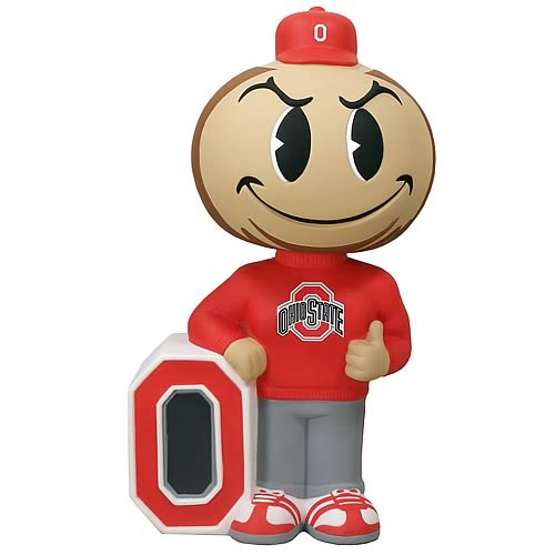 Ohio State Buckeye 12-Inch Bobble Bank