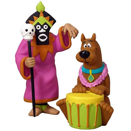 FunkoVision Scooby-Doo & Witch Doctor Vinyl Figures