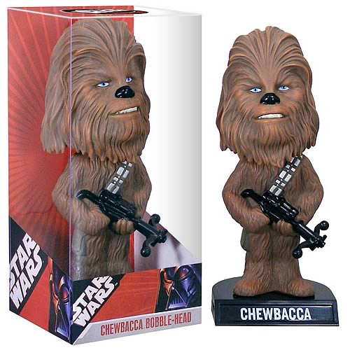 Star Wars Chewbacca Bobble Head
