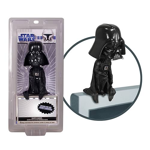Star Wars Darth Vader Computer Sitter Bobble Head