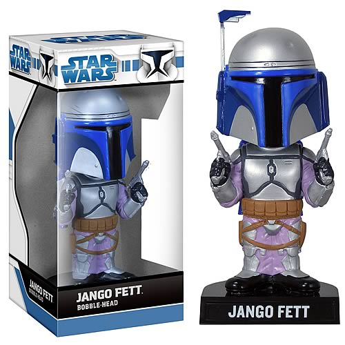 Star Wars Jango Fett Bobble Head