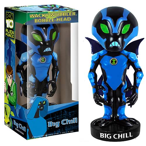 Ben 10 Big Chill Bobble Head