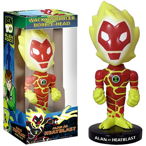 Ben 10 Heat Blast Bobble Head