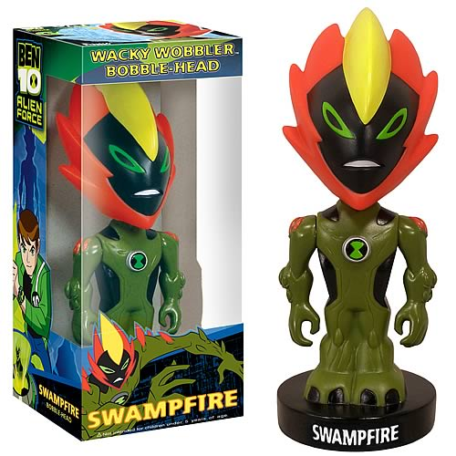 Ben 10 Swampfire Bobble Head