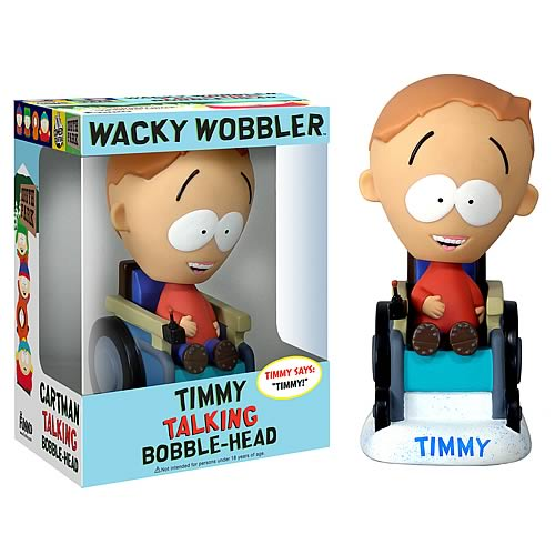 South Park Timmy Talking Bobble Head