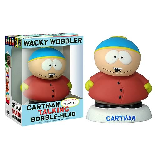 South Park Cartman Talking Bobble Head