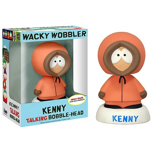 South Park Kenny Talking Bobble Head
