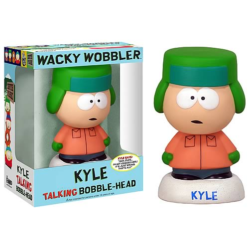 South Park Kyle Talking Bobble Head