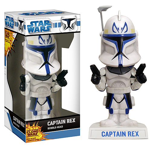 Star Wars The Clone Wars Clone Captain Rex Bobble Head