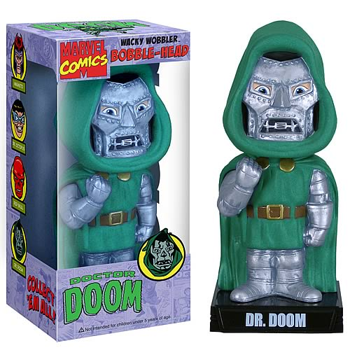 Fantastic Four Dr. Doom Bobble Head